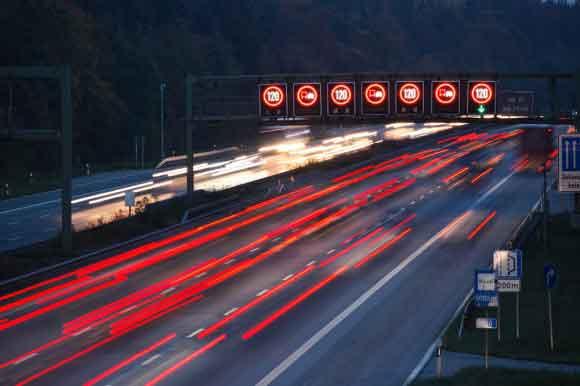 حداکثر سرعت مجاز در آزادراههای ایران